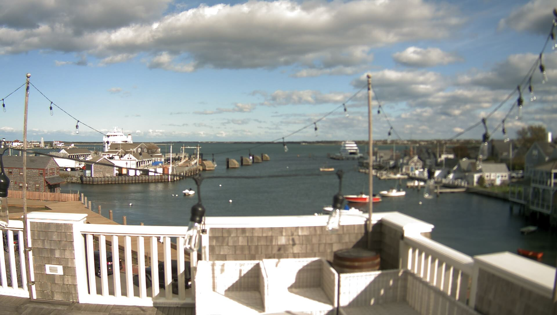 Nantucket Harbor Live Camera View