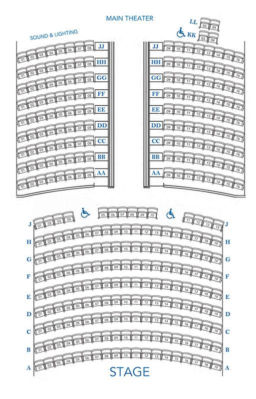 Floor Plans | Nantucket Film and Performing Arts Center