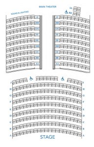 Dreamland Main Theater Seating Chart
