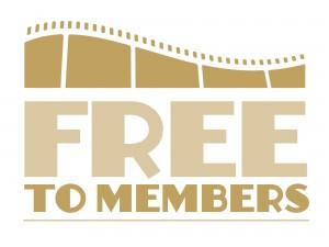 Free to members logo