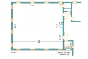 Studio Theater Floor Plan